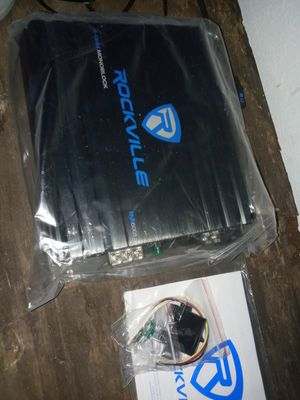 Rockville amp and speaker brand new everything included for Sale in Lake Placid, FL