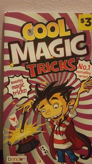 Magic Tricks Book for Sale in Kissimmee, FL
