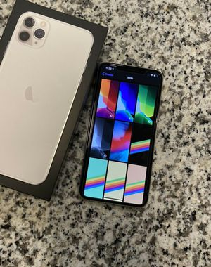 Apple iPhone 11 Pro Max - 256 GB - Silver(Unlocked) for Sale in Tulsa, OK