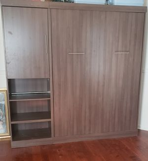 Vertical Murphy Bed with storage for Sale in Duluth, GA
