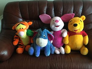 "Winnie the Pooh stuffed animal collection (20"" height)($70 or OBO) for Sale in Portland, OR"