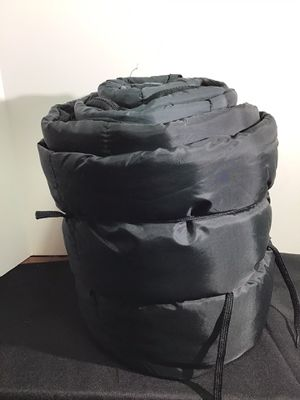 Black sleeping bag used once / excellent condition for Sale in Fort Lauderdale, FL