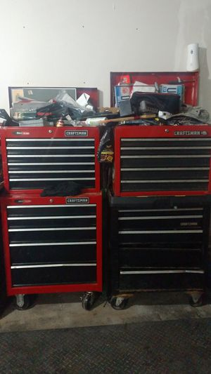 Craftsman toolbox s tool chest s for Sale in Menomonie, WI