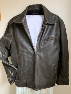 J Crew leather biker jacket for Sale in Chelsea, MA