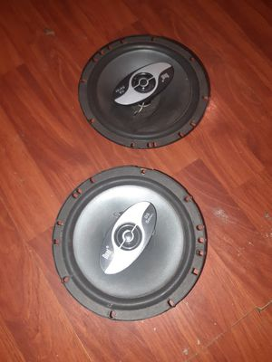 Dual car stereo speakers 6.5 inch for Sale in Corpus Christi, TX