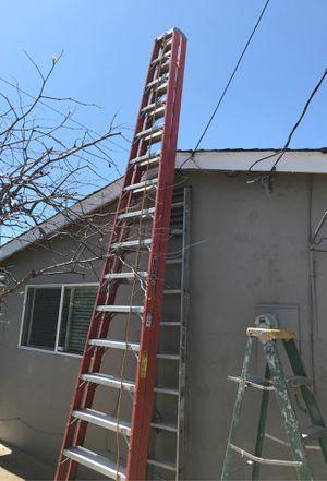 16' Louisville twin ladder for Sale in San Jose, CA