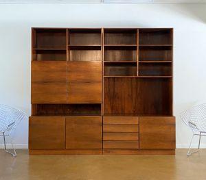 Vintage Ib Kofod Larsen Rosewood Wall Unit. Danish Modern for Sale in Phoenix, AZ