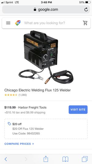 Electric welder for Sale in Parma Heights, OH