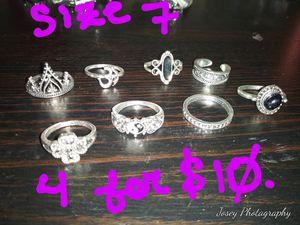 Assorted Rings for Sale in Abilene, TX