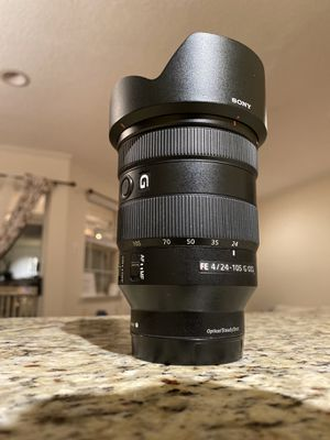 Sony fe 24-105 g lens for Sale in McLean, VA