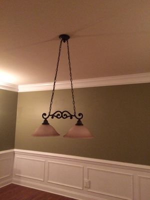 Ceiling lamp for pool table for Sale in Waterford, VA