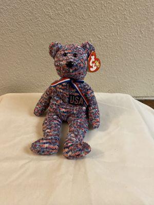 Ty Beanie Baby USA Bear for Sale in Sacramento, CA