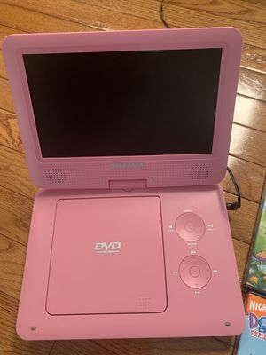 Portable Dvd player and assortment of DVD's for Sale in Affton, MO