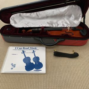1/2 Size Franz Hoffman Amadeus Violin + Accessories for Sale in Portland, OR
