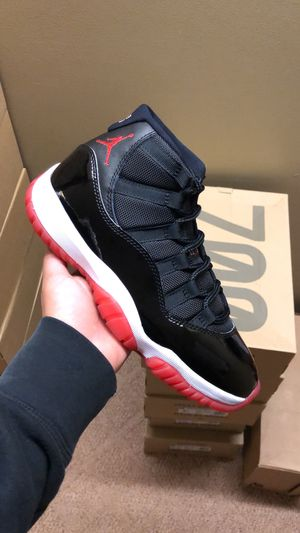 Brand new Bred 11 sizes 8 - 12 in hand for Sale in Sudley Springs, VA
