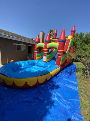 Waterslide sillas mesas canopy water slides taquisas for Sale in Bloomington, CA