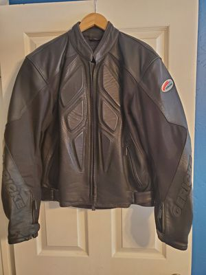 Gericke leather motorcycle jacket for Sale in Chandler, AZ