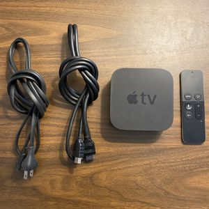 Apple TV fourth generation 32gb perfect with Siri remote hdmi cable and power great! for Sale in Centennial, CO