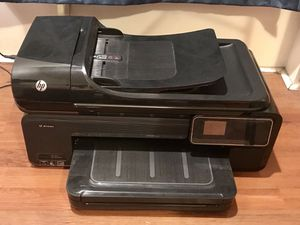 HP Officejet Printer/Copier/Scanner/Fax Machine (w/ extra ink!) for Sale in Brooklyn, NY