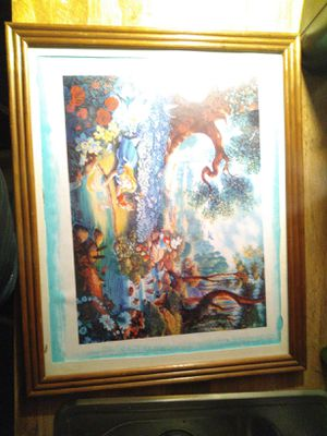 Alice in wonderland print for Sale in LEBANON JCTN, KY