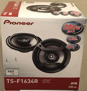 """New Pioneer 6.5"""" inch 200 Watts Car Audio Speakers (pair) 🔥🔊 for Sale in Hemet, CA"""