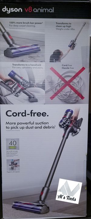 Dyson V8 animal cordless vacuum brand new for Sale in Downey, CA