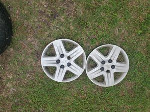 3 Hub cap for 16 inch impala rim and one 16inch rim for impala 06 for Sale in Kyle, TX