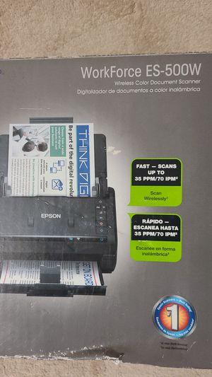 Epson workforce ES-500W for Sale in Miami, FL