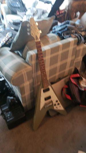 Flying V electric guitar for Sale in Missoula, MT