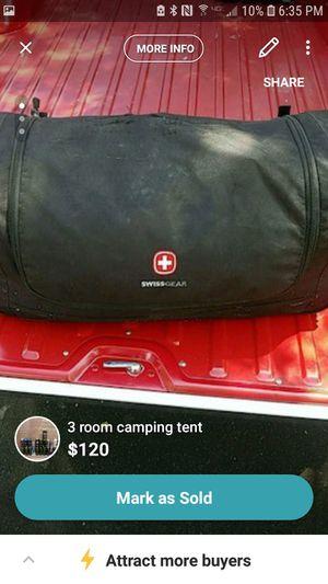 3 room camping tent for Sale in Granite Bay, CA