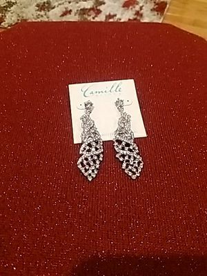 Diamond Hanging Earrings for Sale in Alexandria, VA