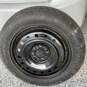 Spare Tire With Rim For2016 Acura MDX Temporary New... never used. T165 / 80 D17 for Sale in Fort Myers Beach, FL