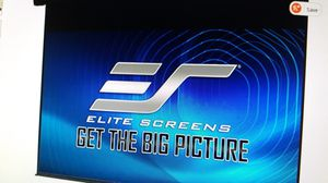 "100"" Elite Screens Electric Projector Screen 16:9 for Sale in Glendale, AZ"