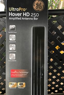 Antenna for Free Hd TV!!! Amplified Antenna Bar 4K Ultra HDTV EASY TO MOUNT ANYWHERE 50 miles range for Sale in Hallandale Beach,  FL
