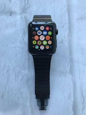 Apple Watch 42mm Series 1 rare Stainless Steel w/ 2 straps for Sale in San Francisco, CA