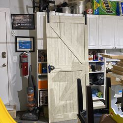 White Oak Barn Door 36 Wide 7 Feet Height for Sale in Boynton Beach,  FL
