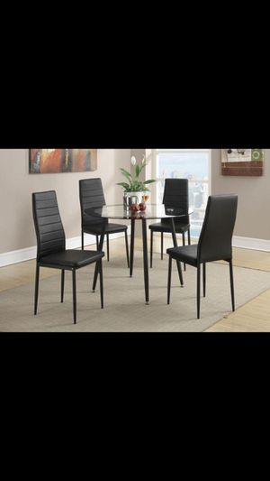 Dining set 4 Chairs BRAND NEW for Sale in West Park, FL