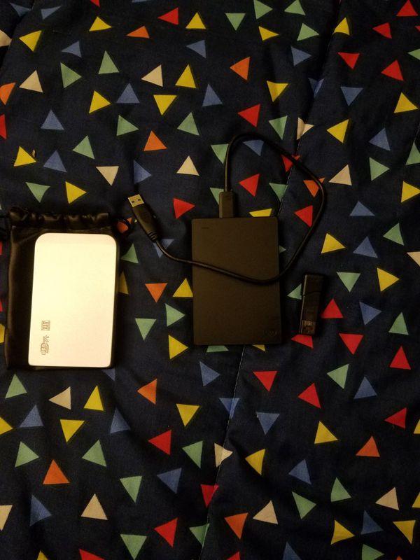 1tb with Latin music,16gb flash drive with Latin music and 2tb hd