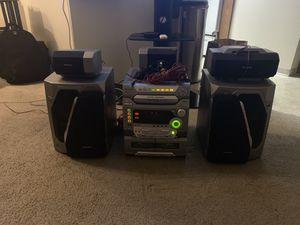 Panasonic Stereo 5 speaker system for Sale in Burien, WA