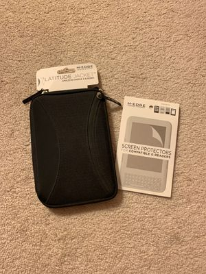 Amazon Kindle 3 jacket and screen protectors for Sale in Raleigh, NC