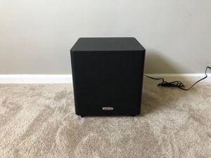 Polk Audio Home Powered Active Subwoofer for Sale in Mount Prospect, IL