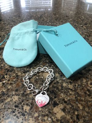 Color splash heart tag Tiffany's bracelet (special edition) for Sale in Vancouver, WA