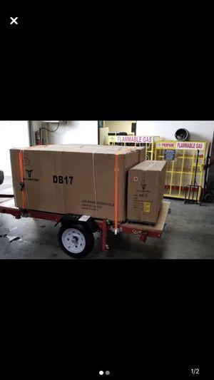 Folding Utility Trailer $250 for Sale in Fairfield, CA