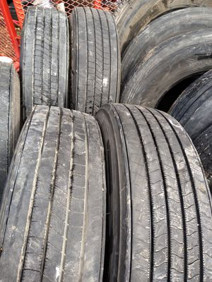 Trailer tires 295/75/22.5 and 11/22.5 from $100 to $160 for Sale in Irving, TX