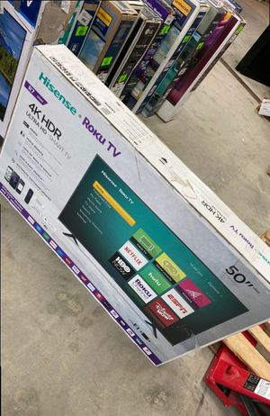 Hisense roku 50 inch tv 😎😎😎😎 XCPA for Sale in DeSoto, TX