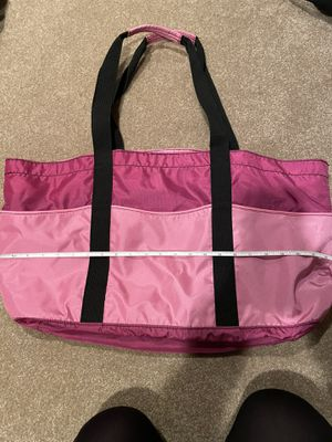 LL BEAN PINK TOTE BAG EUC (slightly larger) for Sale in Moorestown, NJ