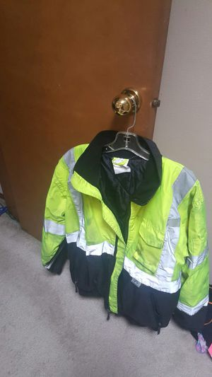 Construction jackets for men size medium for Sale in Renton, WA