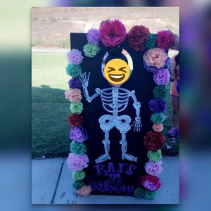 Day of the Dead photo prop!! for Sale in Corona, CA