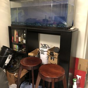 Fish Tank, Pump And Display Shelf for Sale in South San Francisco, CA