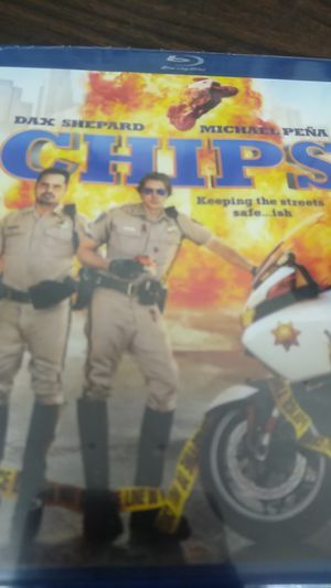 Chips Blu-ray DVD brand new for Sale in Gilroy, CA